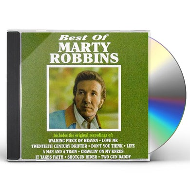 Marty Robbins BEST OF CD