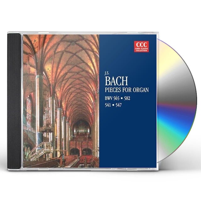 J.S. Bach PIECES FOR ORGAN CD