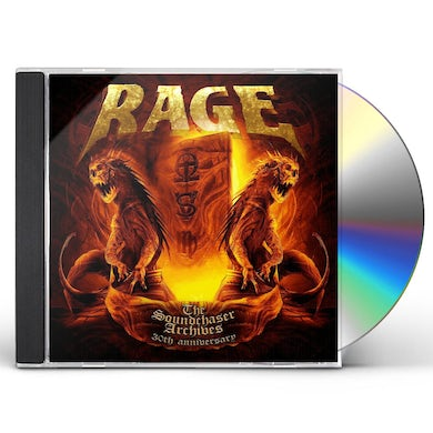 Rage SOUNDCHASER ARCHIVES CD