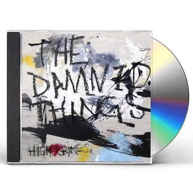 Damned Things HIGH CRIMES CD