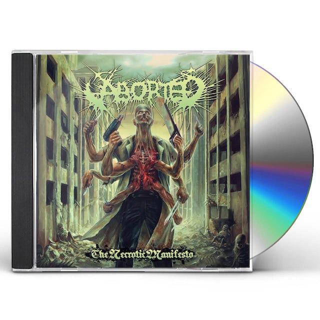 Aborted NECROTIC MANIFESTO CD