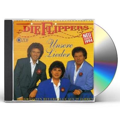 Flippers UNSERE LIEDER CD