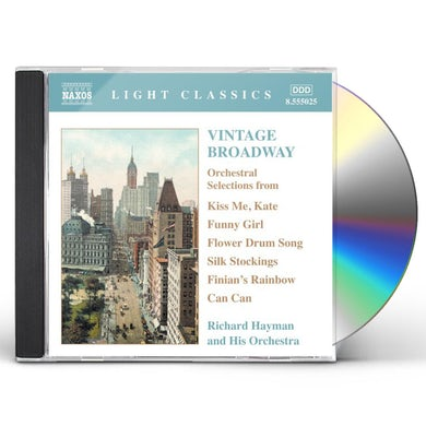 Richard Hayman VINTAGE BROADWAY CD