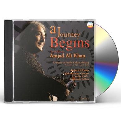 Amjad Ali Khan JOURNEY BEGINS: TRIBUTE TO KISHAN MAHARA 2 CD