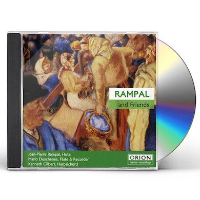 Jean-Pierre Rampal RAMPAL &FRIENDS CD