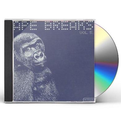 Ape Breaks VOLUME 5 CD