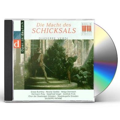 Verdi DIE MACHT DES SCHICKSALS CD