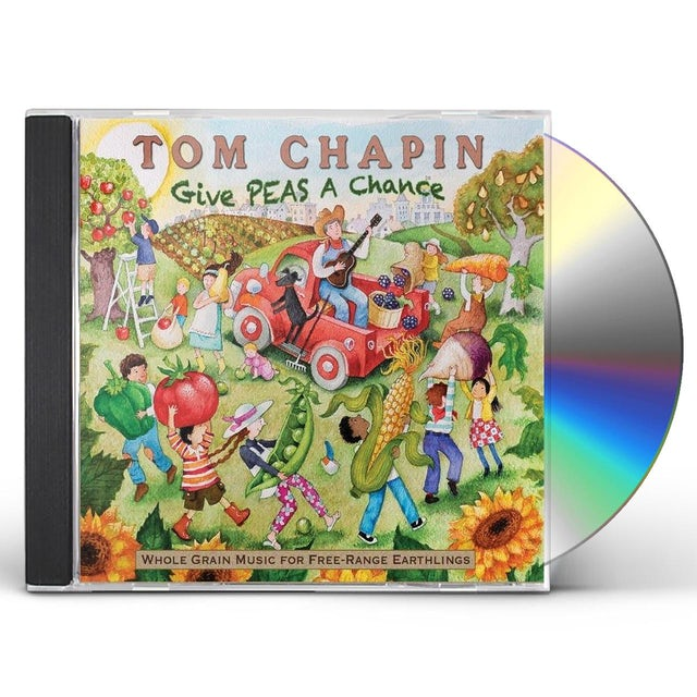 Tom Chapin GIVE PEAS A CHANCE CD