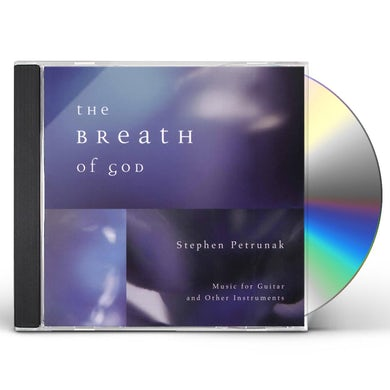 Stephen Petrunak BREATH OF GOD CD