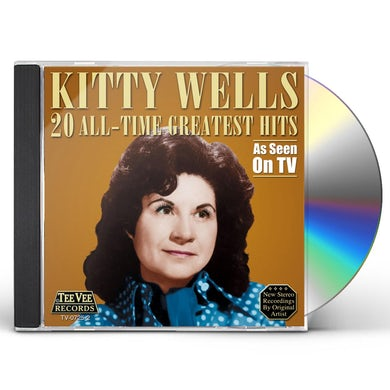 Kitty Wells 20 ALL TIME GREATEST HITS CD