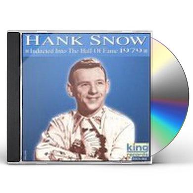 Hank Snow HALL OF FAME 1979 CD