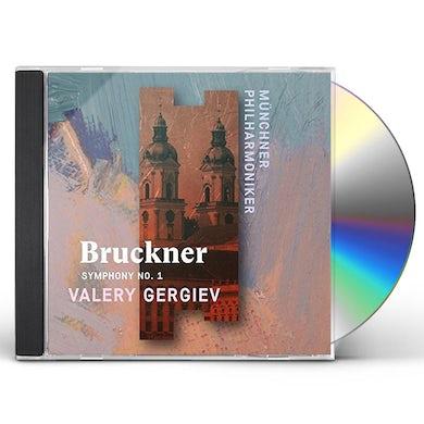 Valery Gergiev BRUCKNER: SYMPHONY NO. 1 CD