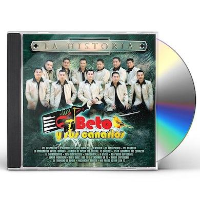 Beto y Sus Canarios HISTORIA CD