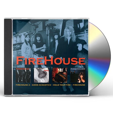 GOOD ACOUSTICS / HOLD YOUR FIRE / FIREHOUSE / TME CD