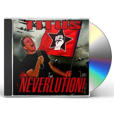 Christopher Titus NEVERLUTION CD