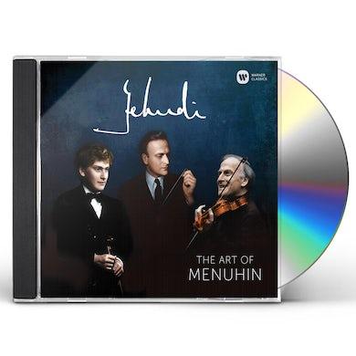 Yehudi Menuhin YEHUDI - THE ART OF MENUHIN CD