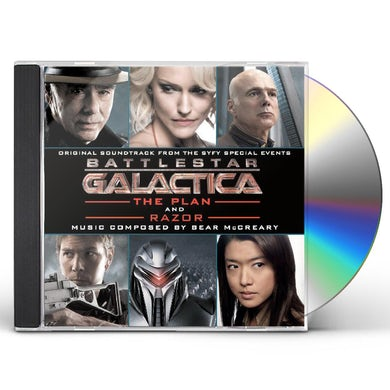 Bear McCreary BATTLESTAR GALACTICA: PLAN / RAZOR / Original Soundtrack CD
