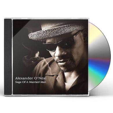Alexander O'Neal SAGA OF A MARRIED MAN CD
