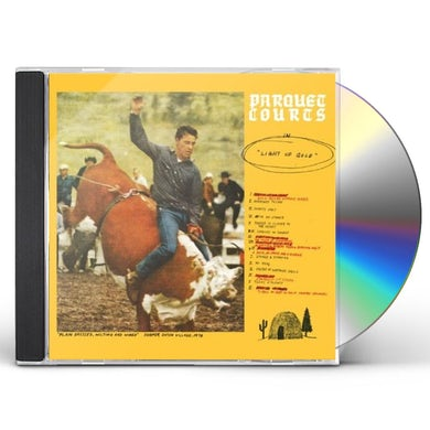 Parquet Courts LIGHT UP GOLD CD