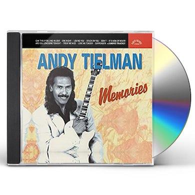 Andy Tielman MEMORIES OF ELVIS CD