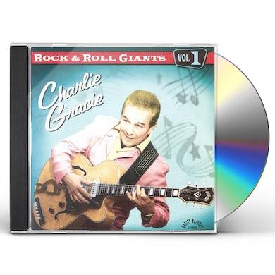 Charlie Gracie ROCK & ROLL GIANTS CD