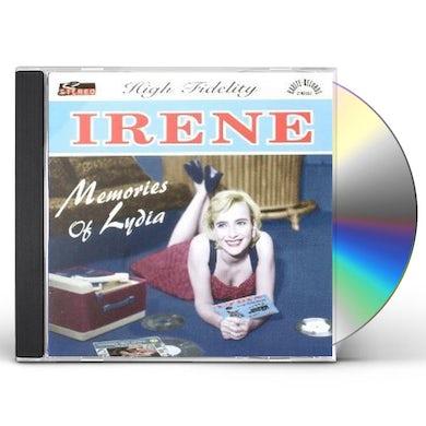 Irene MEMORIES OF LYDIA (FEAT. DANNY EVERETT) CD