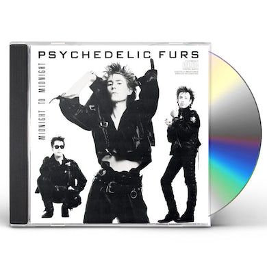 Psychedelic Furs MIDNIGHT TO MIDNIGHT CD