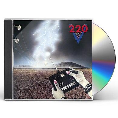 220 Volt POWER GAMES CD
