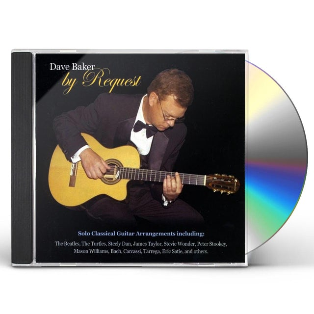 Dave Baker BY REQUEST CD