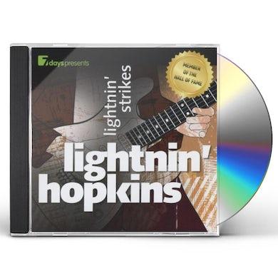 Lightnin Hopkins LIGHTNIN' STRIKES CD