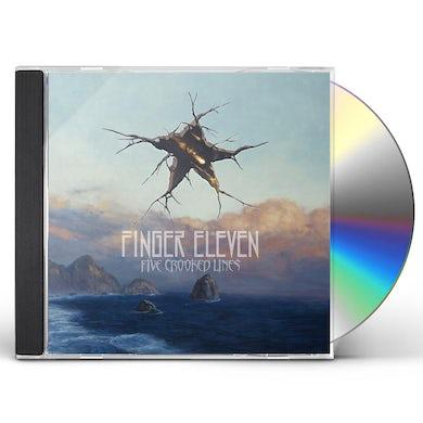 Finger Eleven FIVE CROOKED LINES CD
