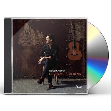 Thibault Cauvin LE VOYAGE D'ALBENIZ CD