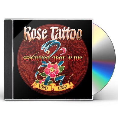 Rose Tattoo SCARRED FOR LIVE 1980-1982 CD