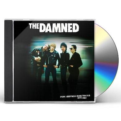 The Damned PUNK ODDITIES & RARE TRACKS 1977-1982 CD