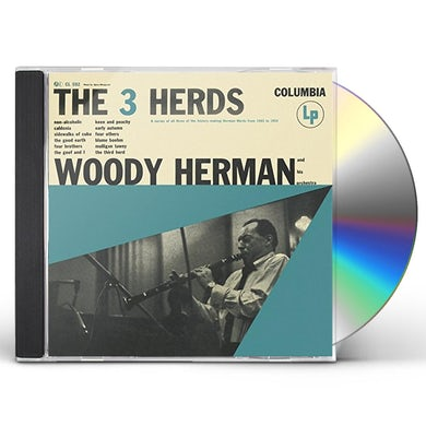 Woody Herman & His Orchestra 3 HERDS CD