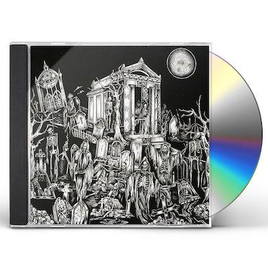 Nocturnal Blood DEVASTATED GRAVES: THE MORBID CELEBRATION CD