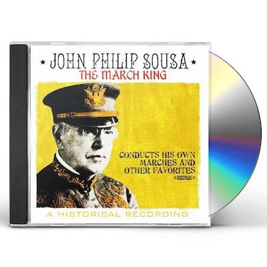 John Philip Sousa MARCH KING CD