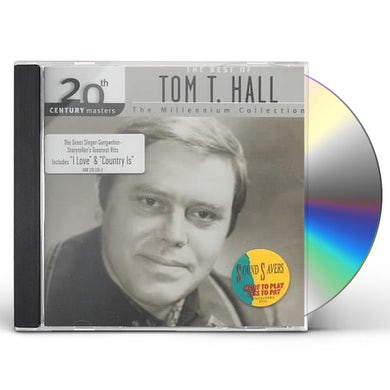 Tom T Hall 20TH CENTURY MASTERS CD
