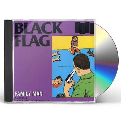 Black Flag FAMILY MAN CD