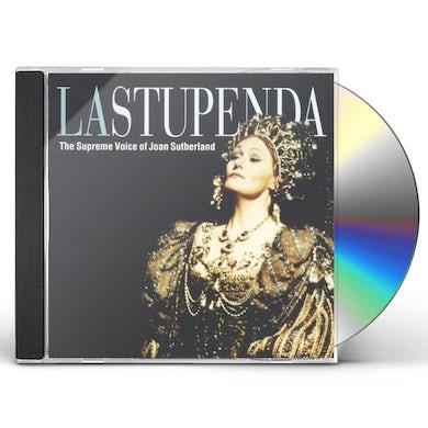 STUPENDA: SUPREME VOICE OF JOAN SUTHERLAND CD