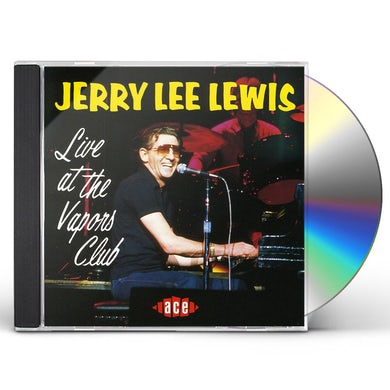 Jerry Lee Lewis LIVE AT VAPORS CLUB CD