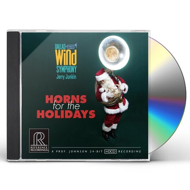Dallas Wind Symphony HORNS FOR THE HOLIDAYS CD