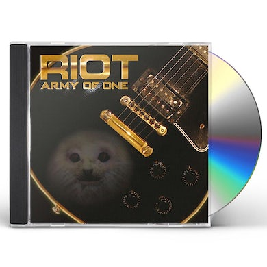 Riot ARMY OF ONE CD