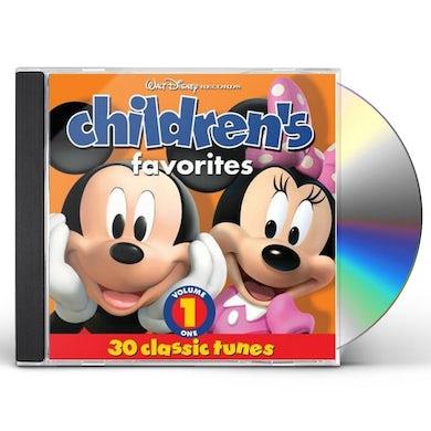 Disney Children's Favorites, Volume 1 CD