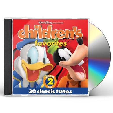 Disney Children's Favorites, Volume 2 CD