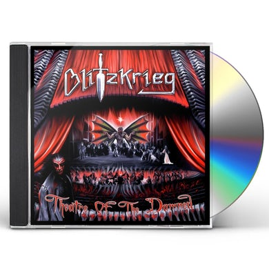 Blitzkrieg Theatre Of The Damned CD