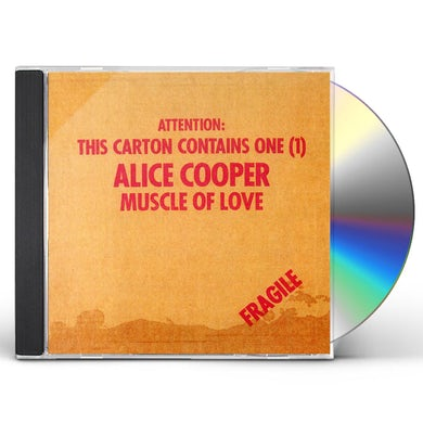 Alice Cooper MUSCLE OF LOVE CD