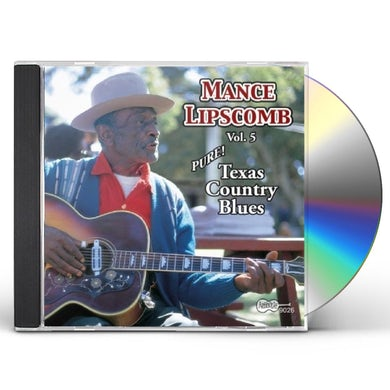 Mance Lipscomb TEXAS COUNTRY BLUES CD