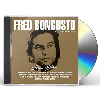 Fred Bongusto GOLD EDITION CD