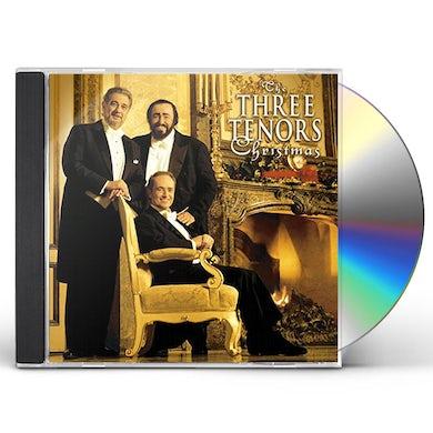 Placido Domingo THREE TENOR'S CHRISTMAS CD